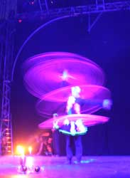 fire show, fire performance, circus, Australia, international, UV hula hoop