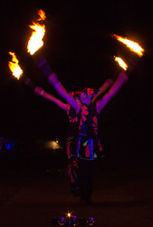 fire club swinging circus act