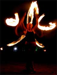 enchant fire show